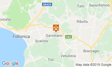 Map Gavorrano Villa 118750