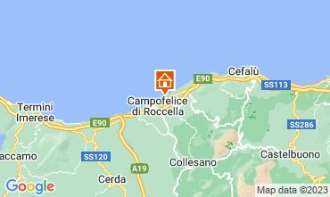 Map Cefalù Villa 40175