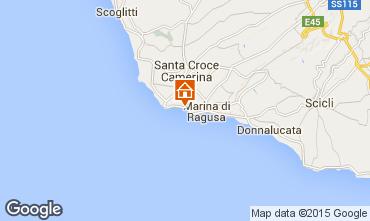 Map Marina di Ragusa Apartment 100412
