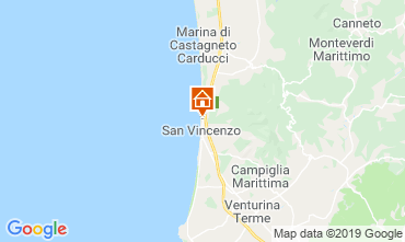 Map San Vincenzo Apartment 117333
