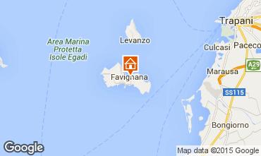 Map Favignana Apartment 87284
