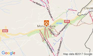 Map Montgenevre Apartment 95754