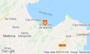 Map Alcudia House 119737