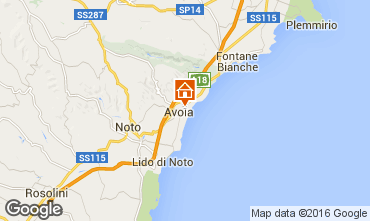 Map Avola Villa 50885