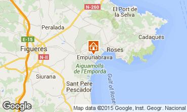 Map Empuriabrava Villa 91705