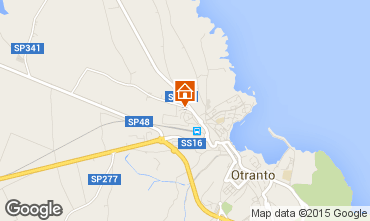 Map Otranto Apartment 77627