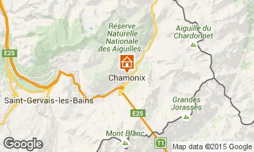 Map Chamonix Mont-Blanc Apartment 66847