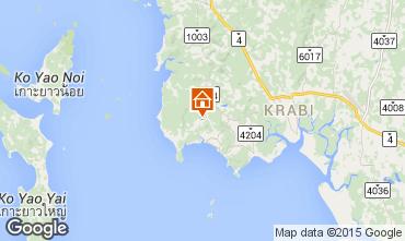 Map Krabi Villa 97702