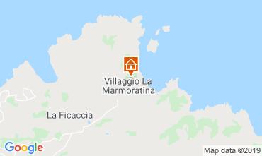 Map Santa Teresa di Gallura Apartment 118632