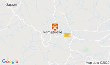 Map Ramatuelle Apartment 10269