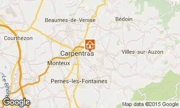 Map Carpentras Villa 64680
