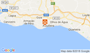 Map Albufeira Apartment 113722
