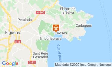 Map Rosas Apartment 68588