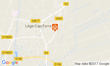 Map Lège Cap Ferret Apartment 9361