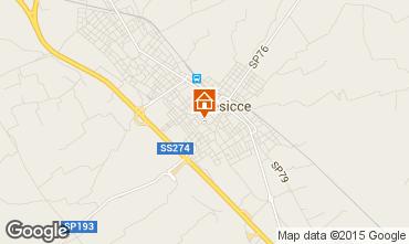 Map Pescoluse Apartment 73801