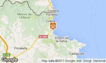 Map Llança Apartment 93358