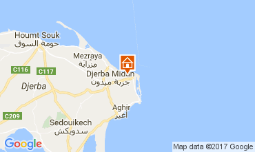 Map Djerba Villa 112810
