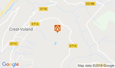 Map Crest Voland Cohennoz Vacation rental 117204