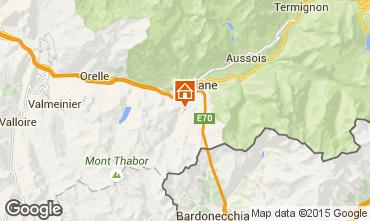 Map Valfréjus Chalet 61756