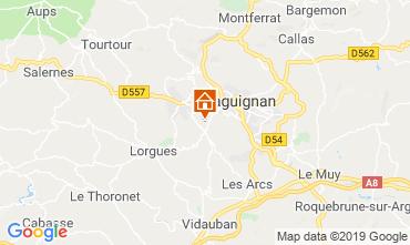 Map Draguignan Villa 119257