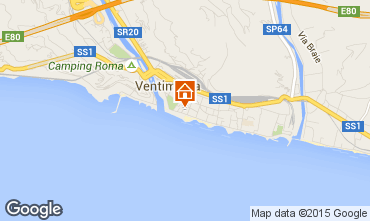Map Vintimille Apartment 82190