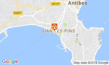 Map Juan les Pins Apartment 65540