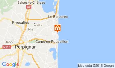 Map Sainte Marie la Mer Villa 80236