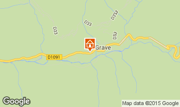 Map La Grave - La Meije Apartment 4761