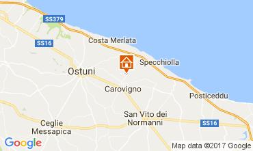 Map Ostuni Villa 109500