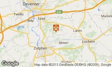 Map Zutphen Vacation rental 26629