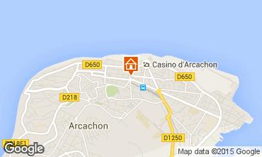 Map Arcachon Apartment 75789