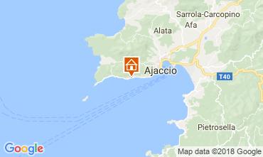 Map Ajaccio One-room apartment 114480