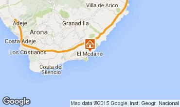 Map El Medano Apartment 83636