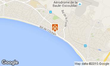 Map La Baule Apartment 7239
