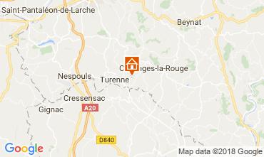 Map Brive-la-Gaillarde House 115407