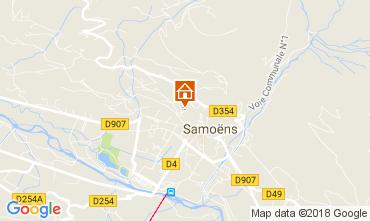 Map Samoëns One-room apartment 113338