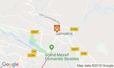 Map Samoëns Apartment 118547