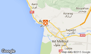 Map Agadir Apartment 53831