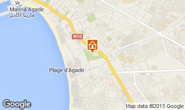 Map Agadir Apartment 53831