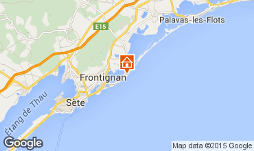 Map Frontignan House 85491