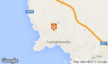 Map Castiglioncello Apartment 90804
