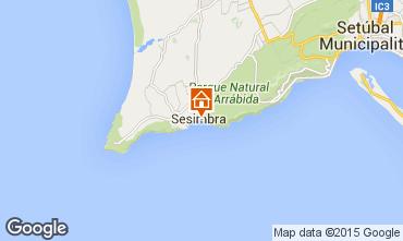 Map Sesimbra Apartment 87553
