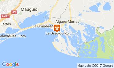 Map Le Grau du Roi Apartment 110385