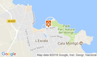 Map L'escala Apartment 114242