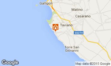 Map Gallipoli Apartment 83079