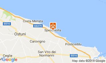 Map Ostuni Villa 109472