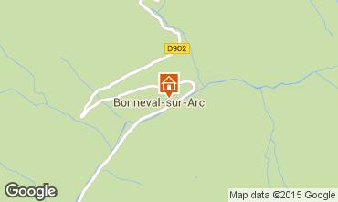 Map Bonneval sur Arc Apartment 93857