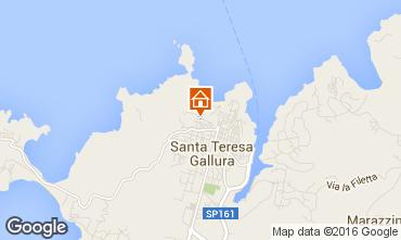Map Santa Teresa di Gallura Apartment 71999