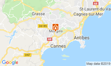 Map Cannes House 119997