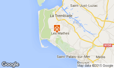 Map La Palmyre Mobile home 97811